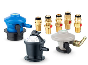 Rotarex SRG offers clip on valves, high pressure propane regulators, low pressure propane regulators, safety valves and more for portable LPG & propane cylinders.
